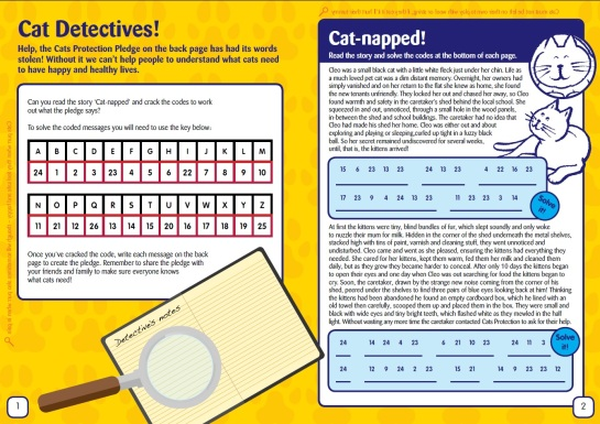 cats protection key stage 2 booklet