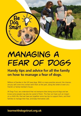 Managing a Fear of Dogs Dogs Trust